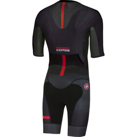 Castelli All Out Traje de Triatlón Hombre, black